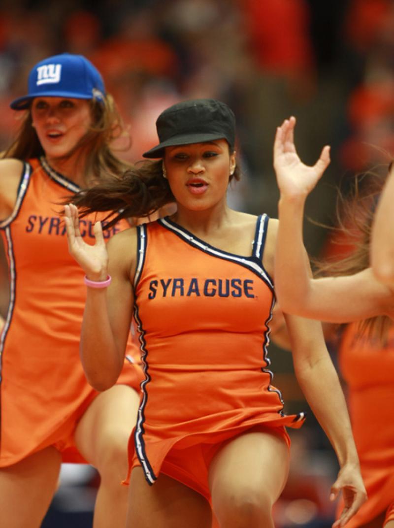 We Have Cheerleaders On Collegehoops Campus Basement