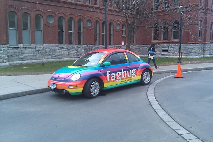The fag car