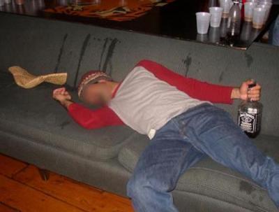 Dronken in slaap gevallen - 3 1
