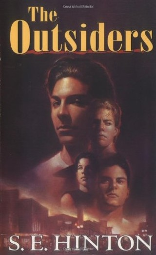 The Outsiders Drawing Book Cover ~ Young adult novels are totally cool campus basement
