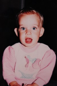 This really doesn't serve a purpose in this post beyond showing that I was an adorable baby and maybe that's why my family tolerated my incessant crying.